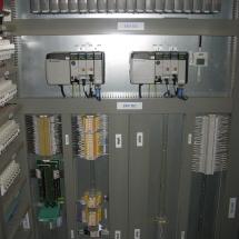 RS - PLC, pohľad na celý rozvádzač v redundantnom prevedení