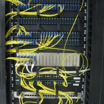 RS - komunikačný uzol, optika, optické prevodníky, switche