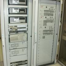 RS rozvádzač pre havarijný panel a PC